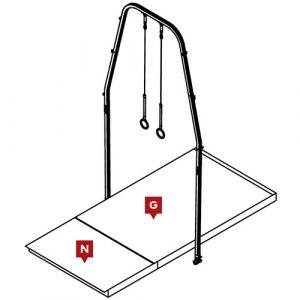 Competition Rings Landing Mat Configuration
